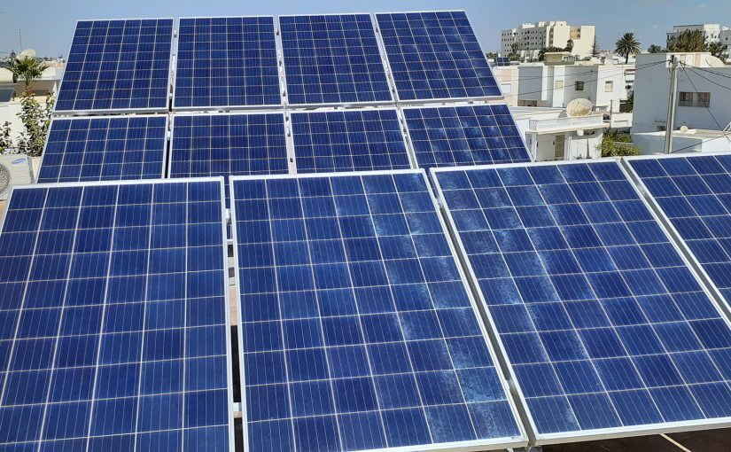 installation photovoltaïque domestique raccordé au réseau STEG