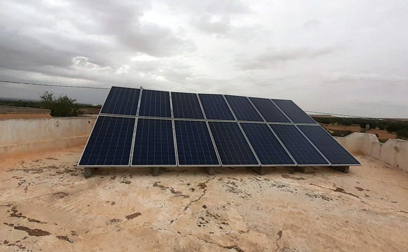 Deux installations photovoltaiques raccordées au réseau