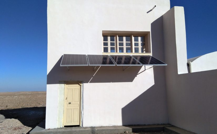 Installation en site isolé
